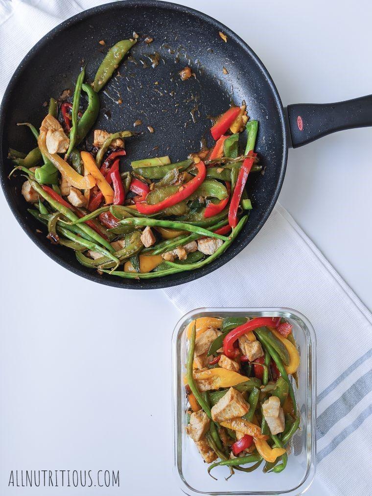 stir-fry recipe in pan
