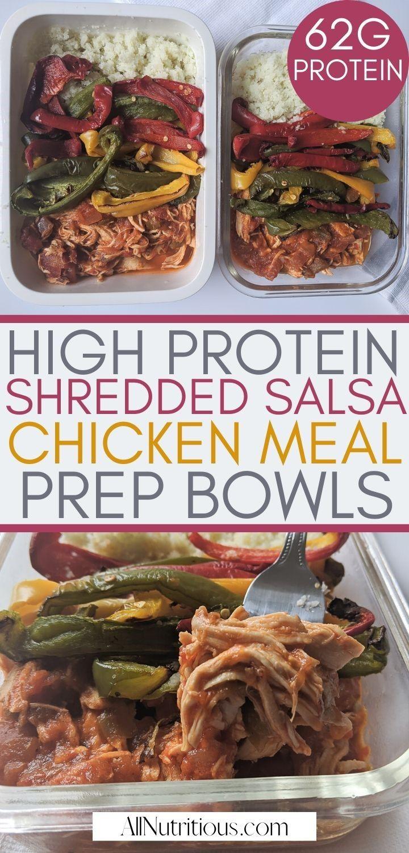 shredded chicken bowl