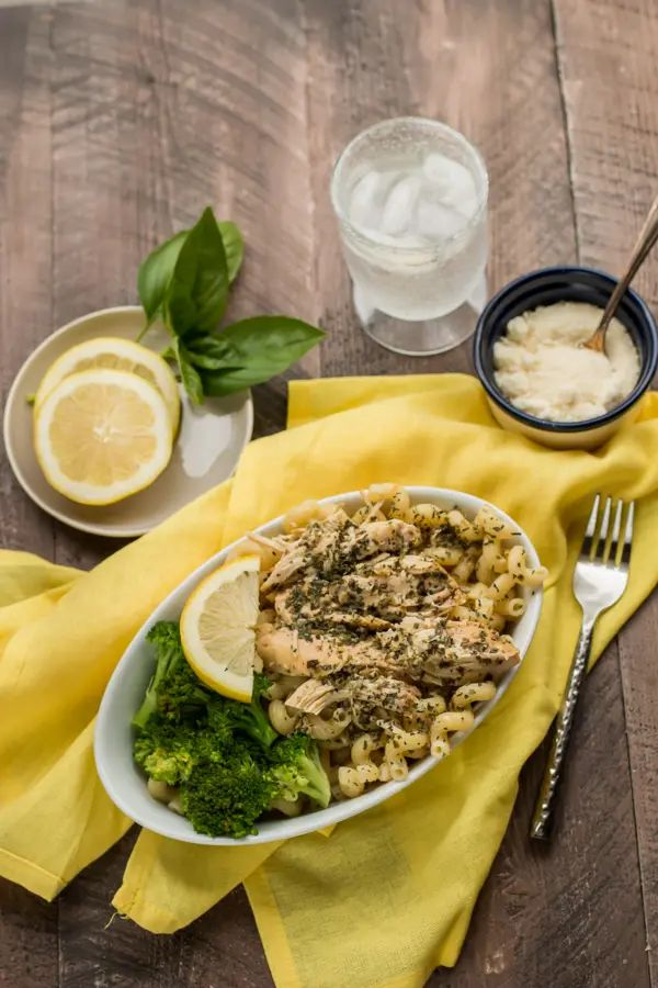 Slow Cooker Lemon Pesto Chicken