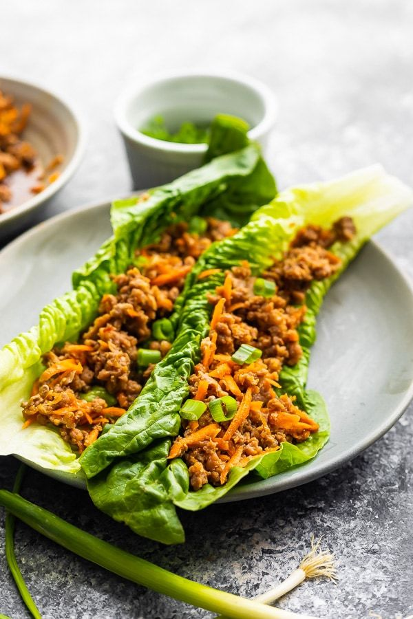 Instant Pot Ground Turkey Lettuce Wraps