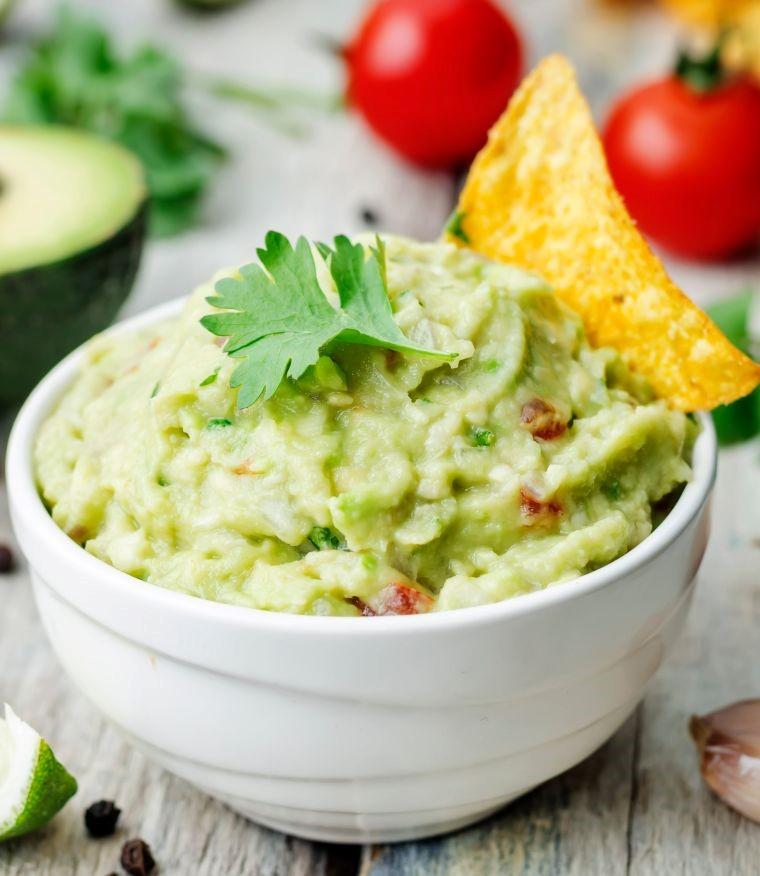 guacamole alternative with edamame