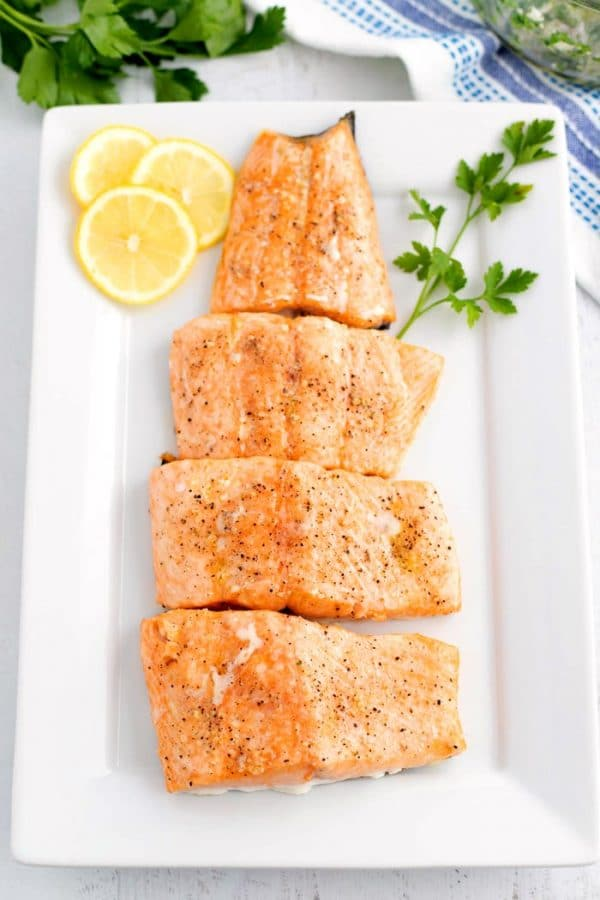 Easy Oven Baked Salmon