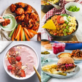20 High Protein Vegetarian Recipes