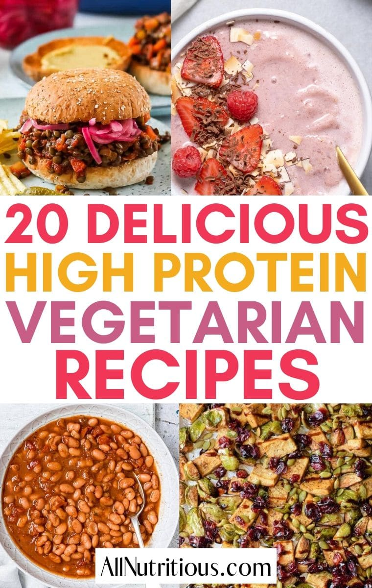 high protein vegetarian recipes
