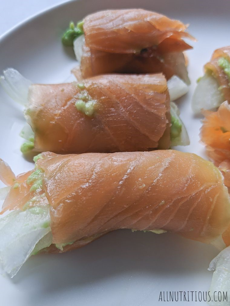 high protein smoked salmon appetizer