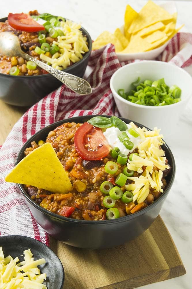 Vegan Chili With Beans