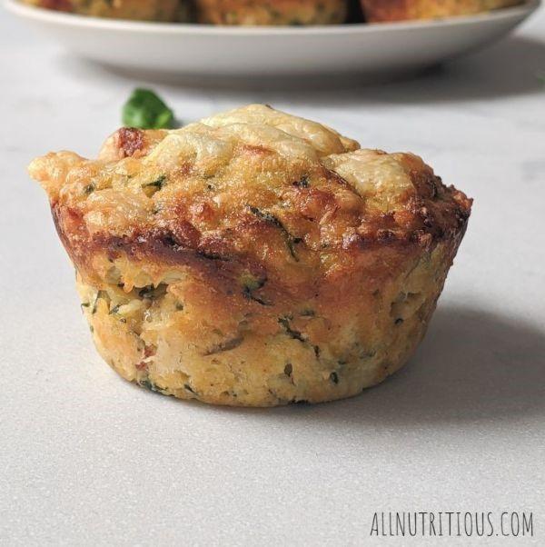 pepperoni zucchini muffins