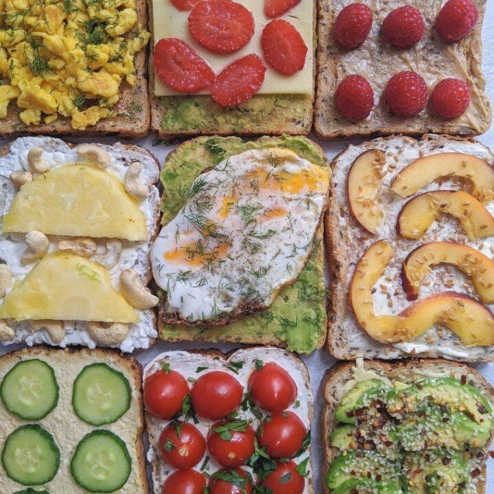 healthy toast ideas for breakfast