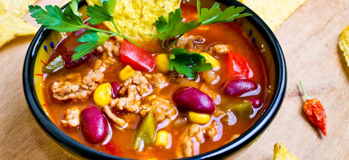 High Protein Taco Soup