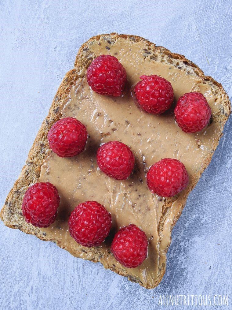 raspberry peanut butter