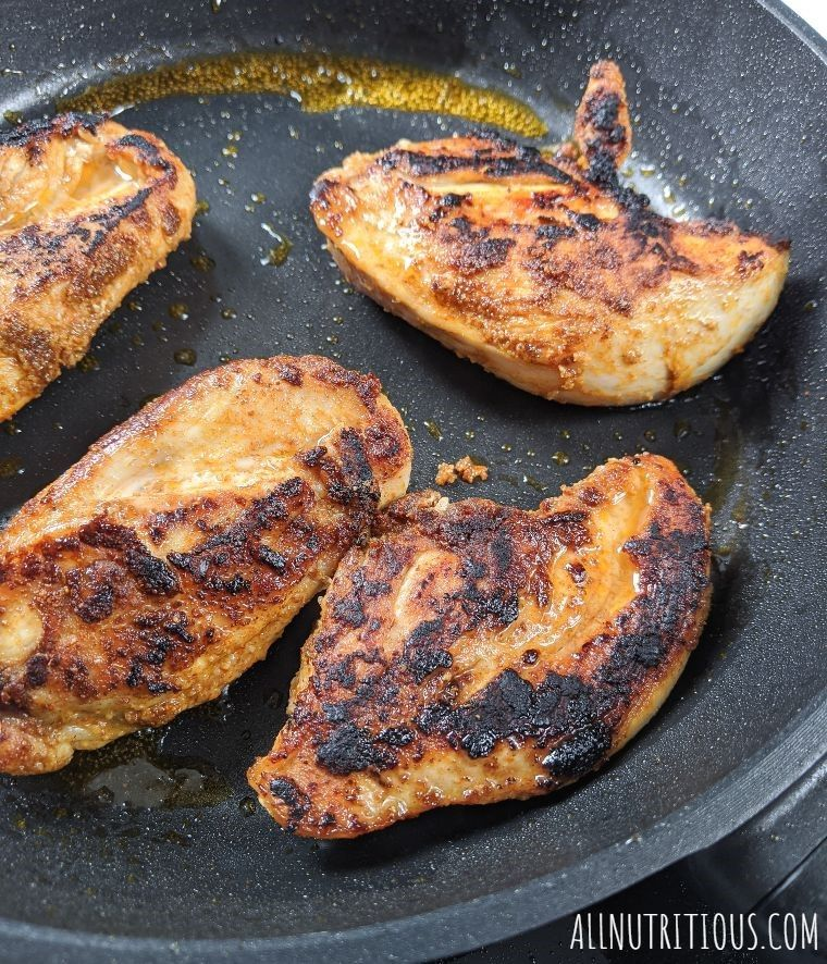 fried chicken breasts
