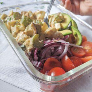egg salad meal prep