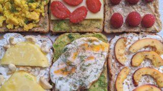 healthy toast ideas