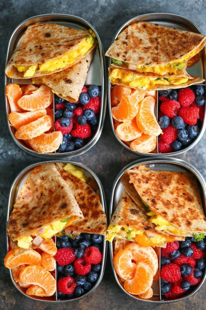 Cheese Breakfast Quesadillas