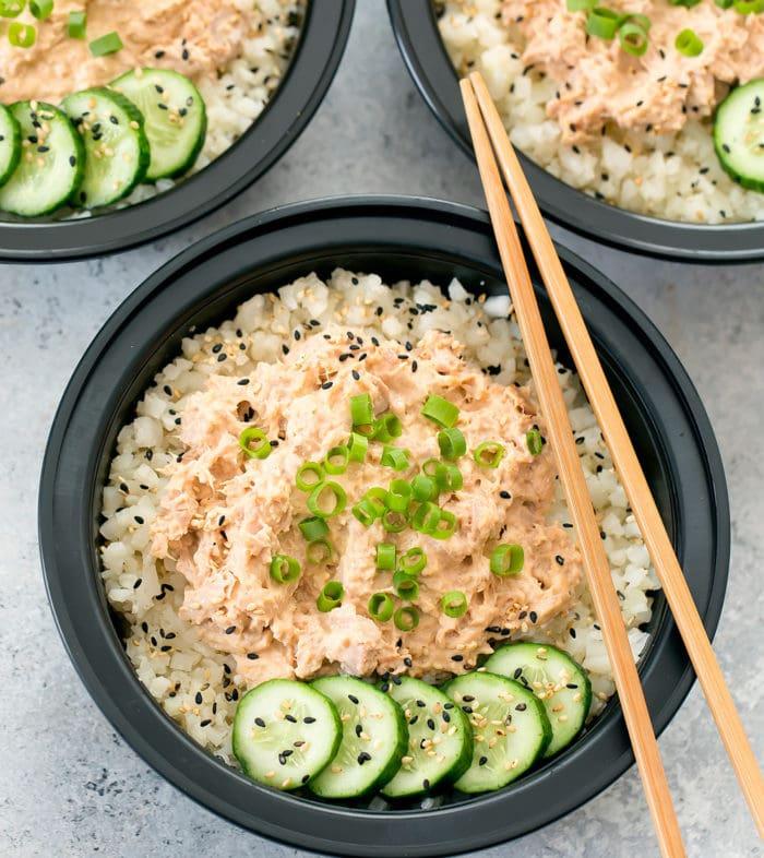 Spicy Tuna Bowls