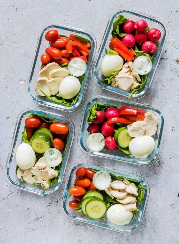 Healthy Chicken Meal Prep