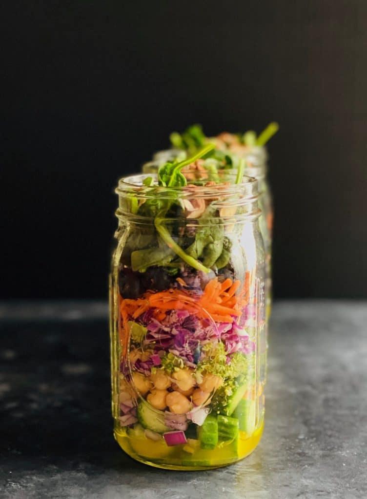 Detox Salad Jar