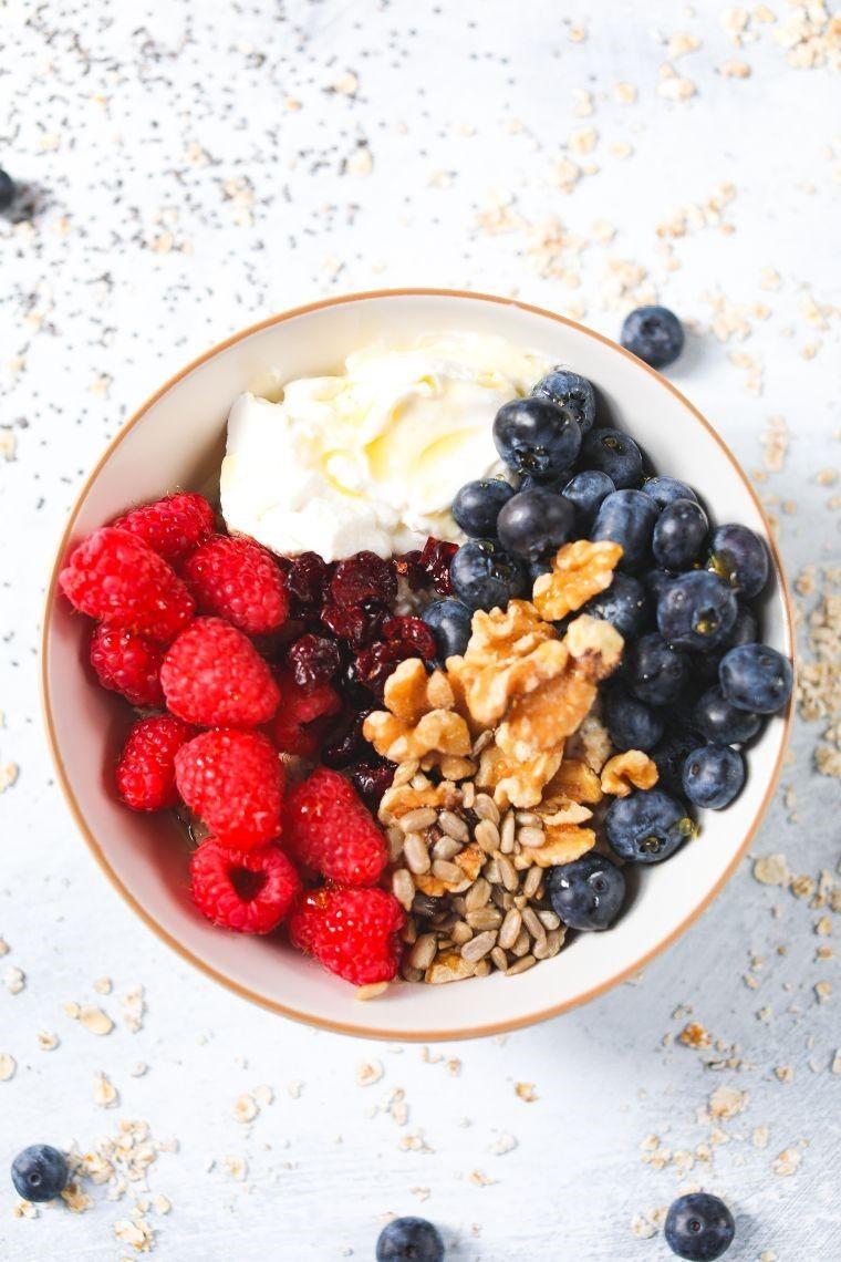 high protein breakfast power bowl