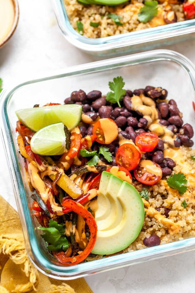 Vegan Chipotle Bowls
