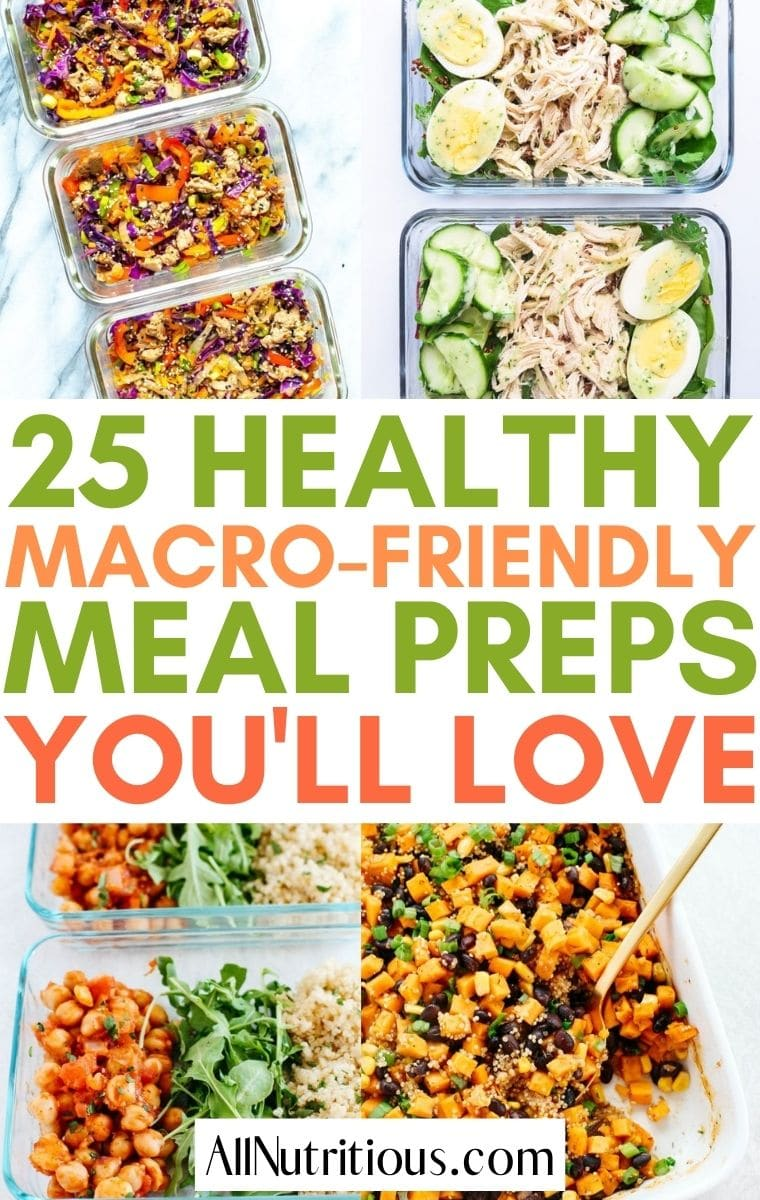 macro friendly meal preps