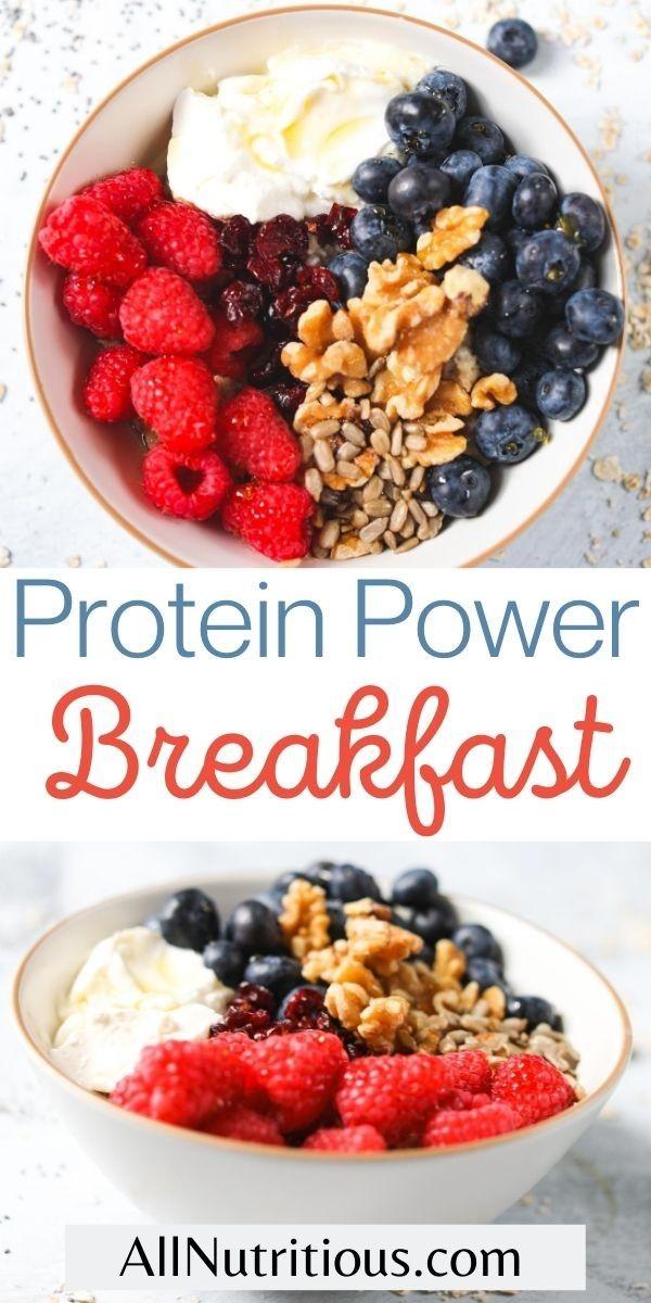 protein power breakfast pin