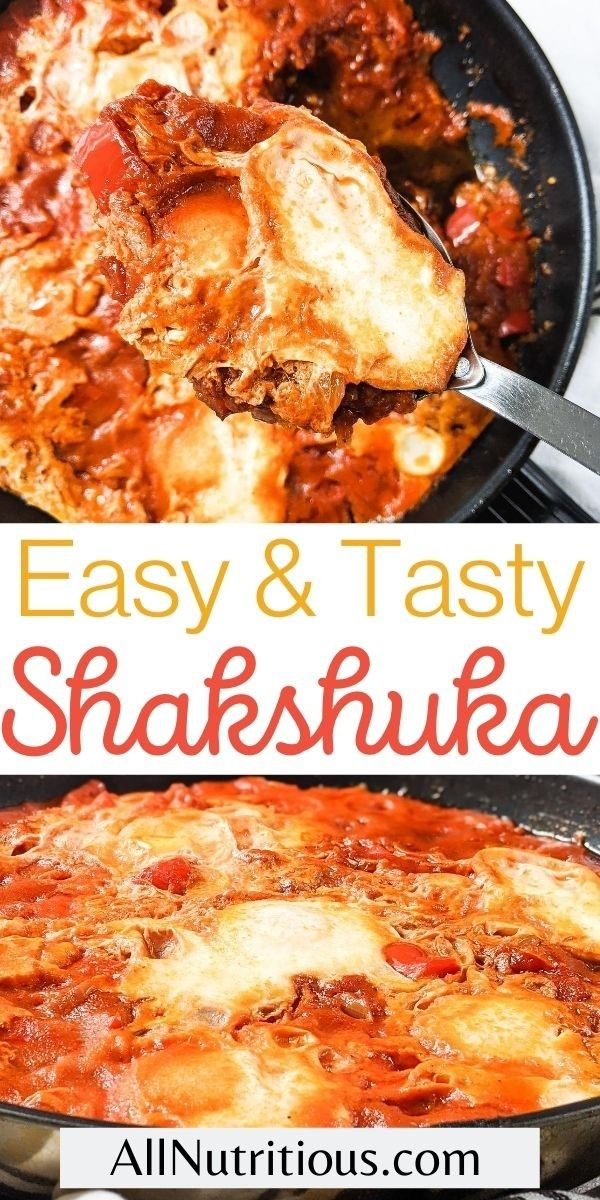 simple shakshuka breakfast long pin
