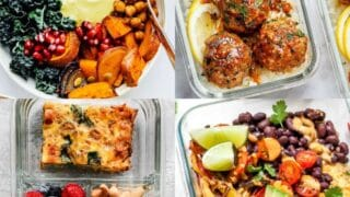 30 Healthy Meal Prep Ideas That Are Super Easy