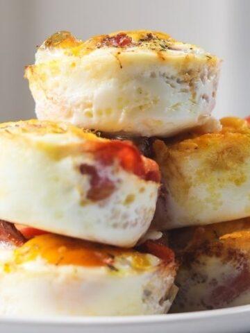 keto bacon egg cups