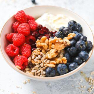 protein power breakfast bowl
