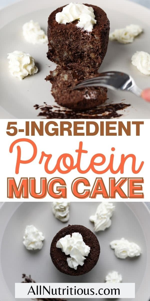 5 Ingredient Protein Mug Cake In 5 Minutes All Nutritious
