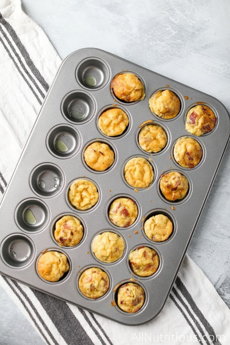 cooked keto egg muffins