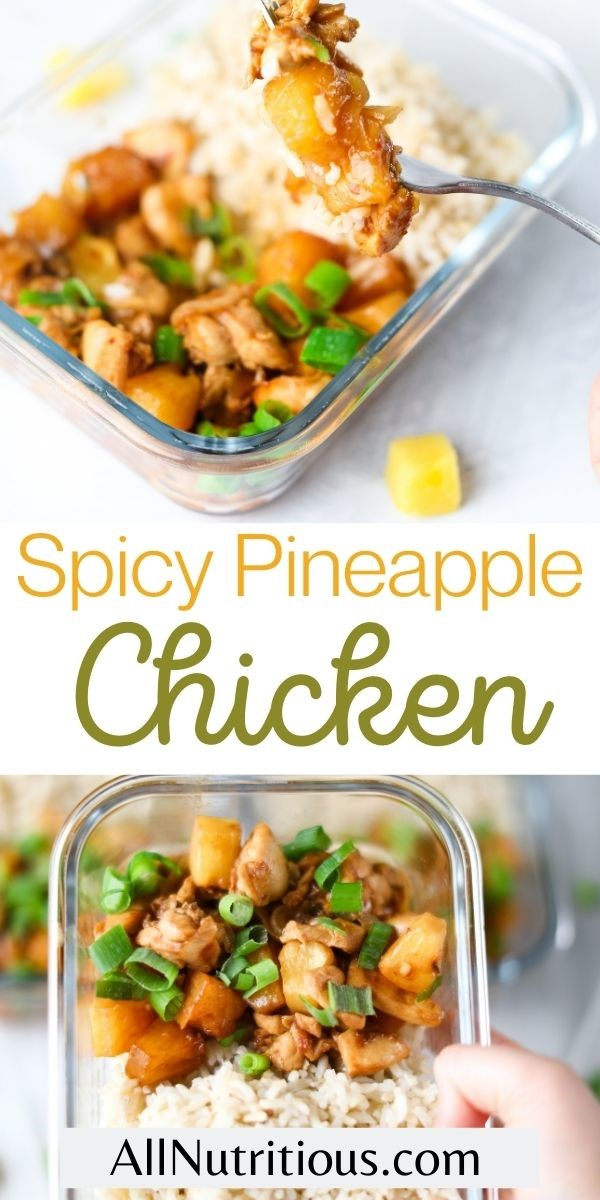 spicy pineapple chicken pinterest