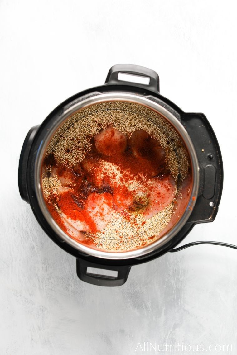 spices in instant pot mixture