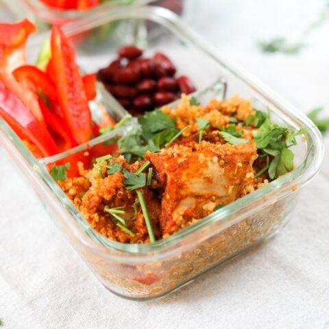 instant pot spicy chicken