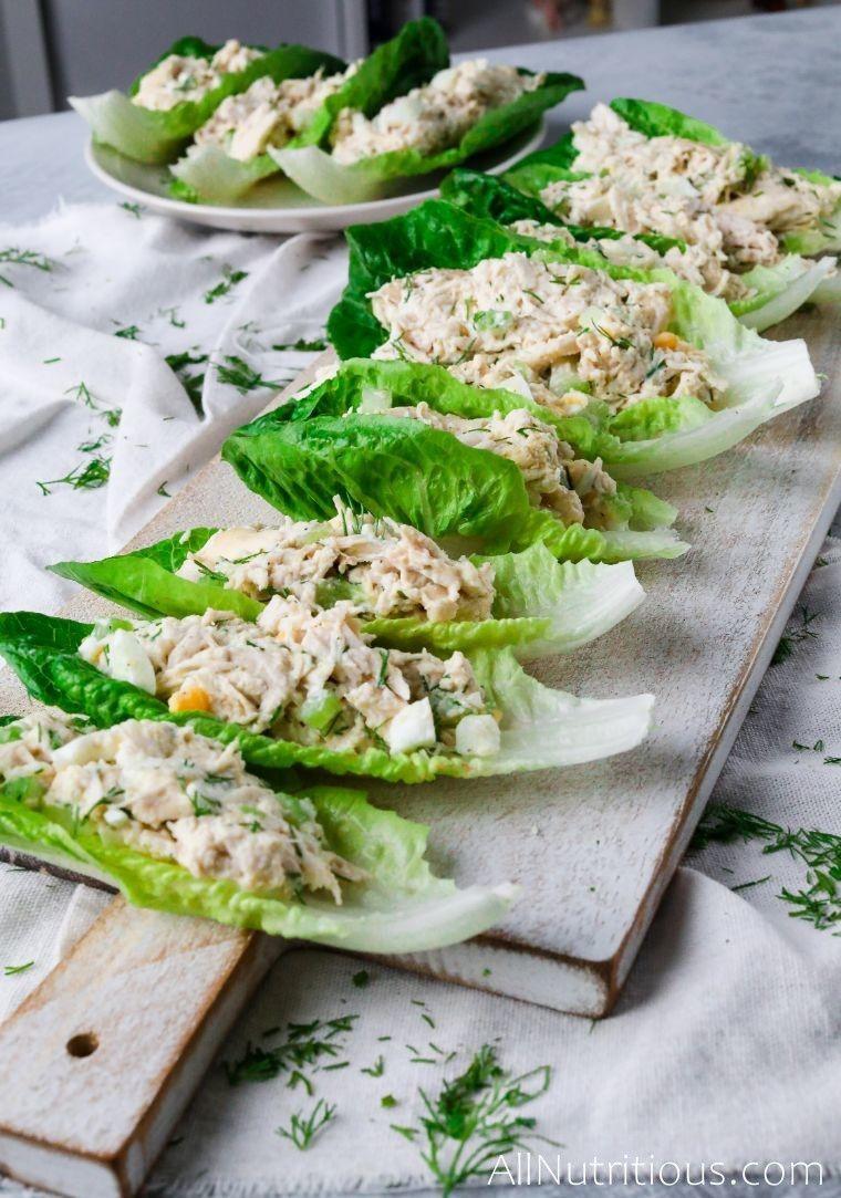 all salad boats