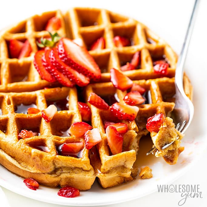 Vanilla Low Carb Protein Waffles