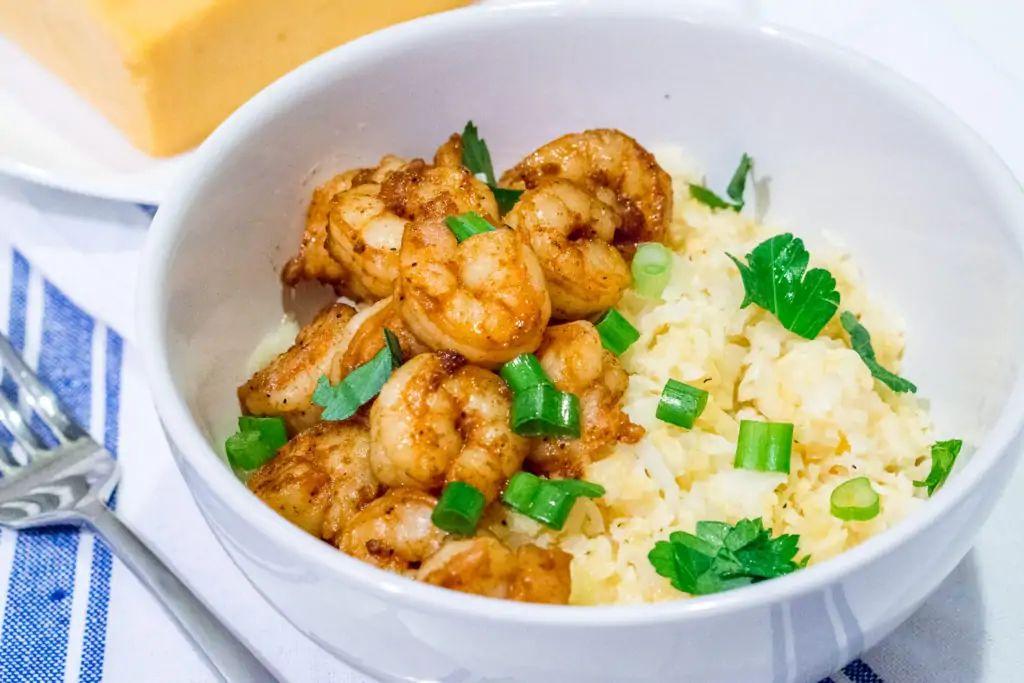 Keto Cajun Shrimp