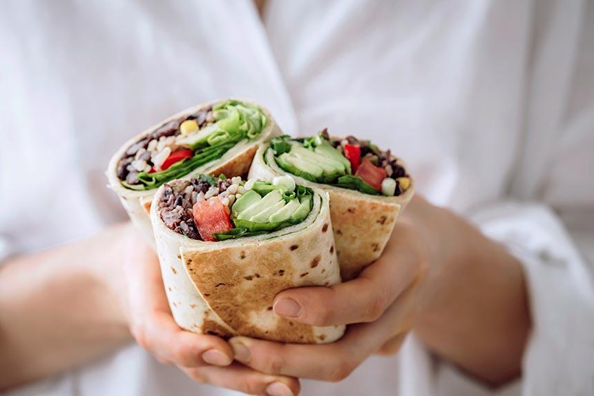 Vegan Bean Burrito
