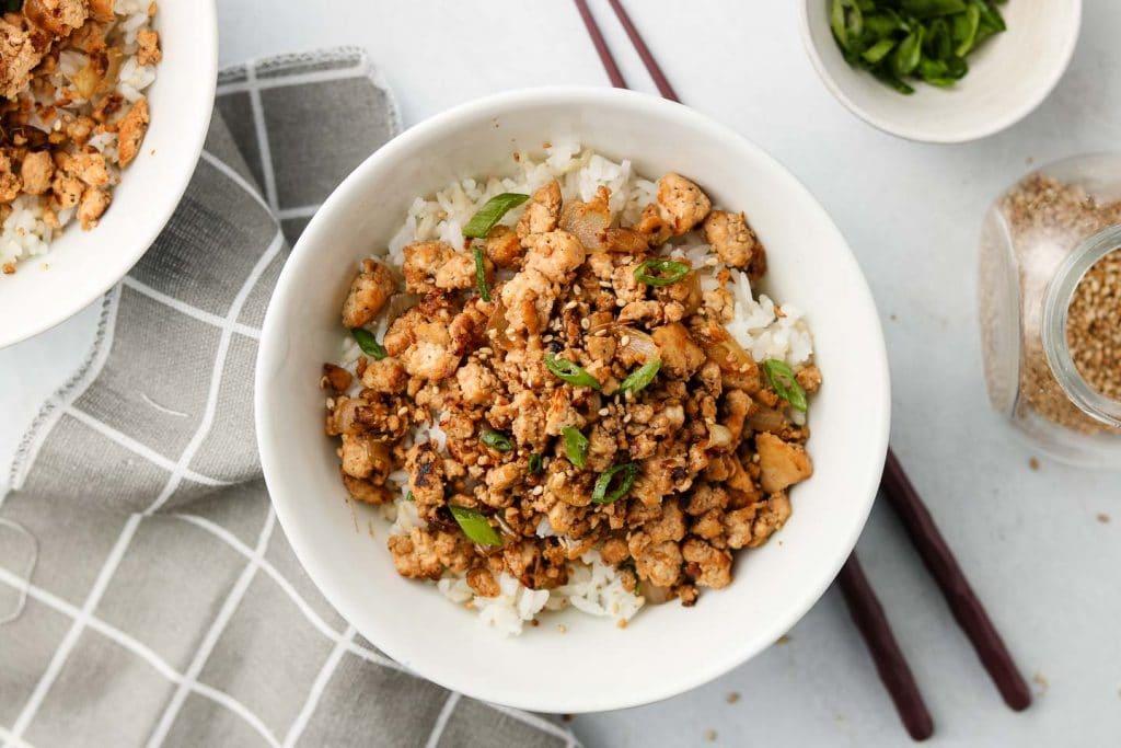 Tofu 'Beef' Bowls