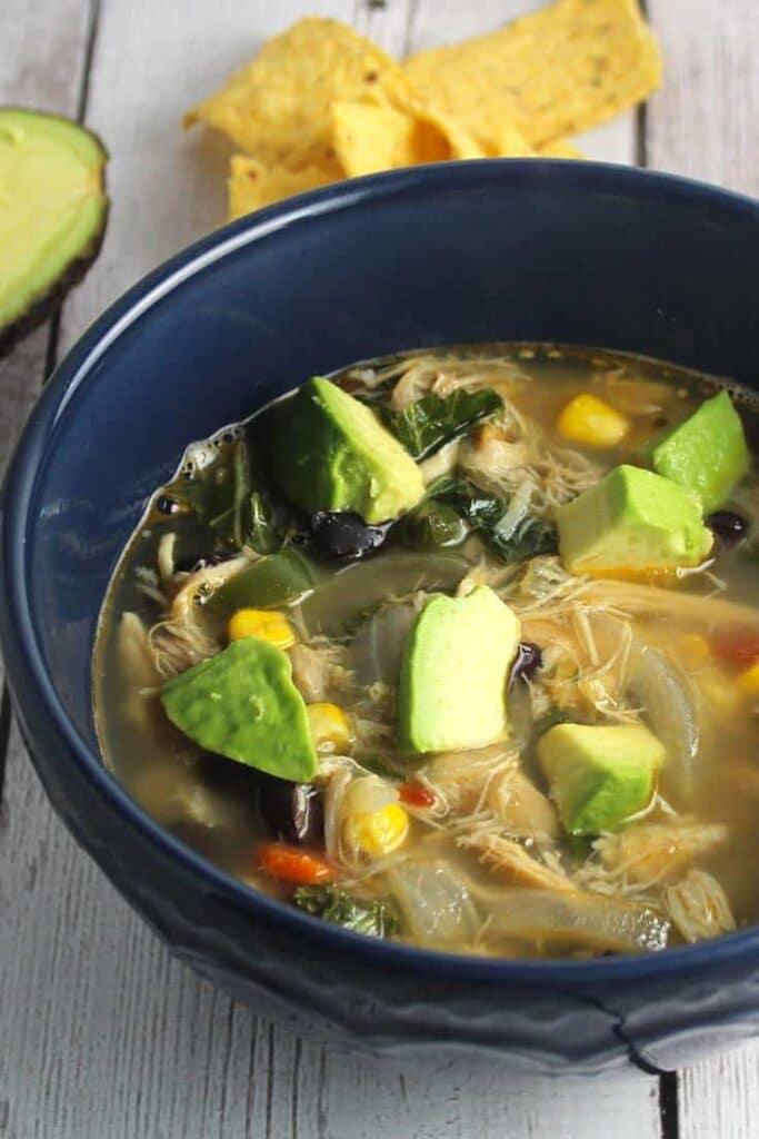 Chipotle Chicken Black Bean Soup
