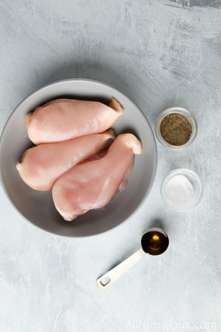 shredded chicken ingredients