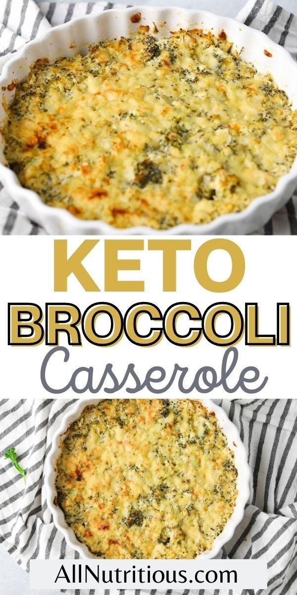 keto broccoli casserole long pin