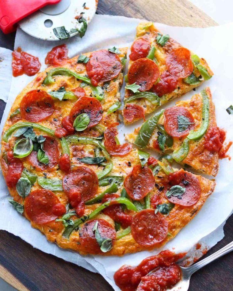 Pepperoni Pizza Frittata