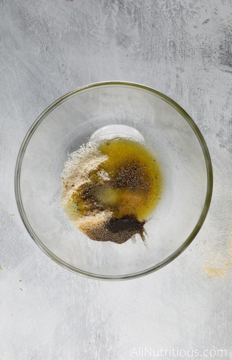 mixed ingredients