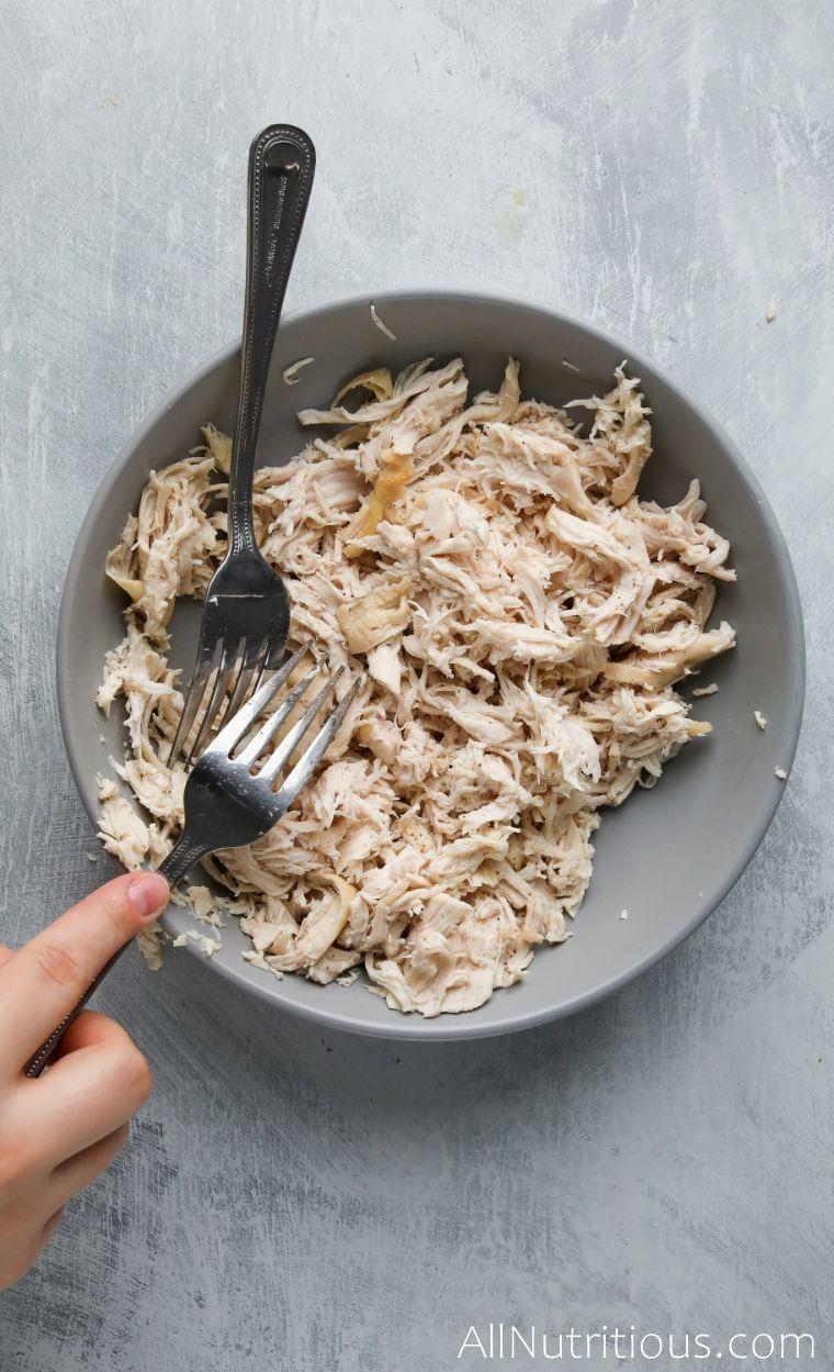 shredding chicken