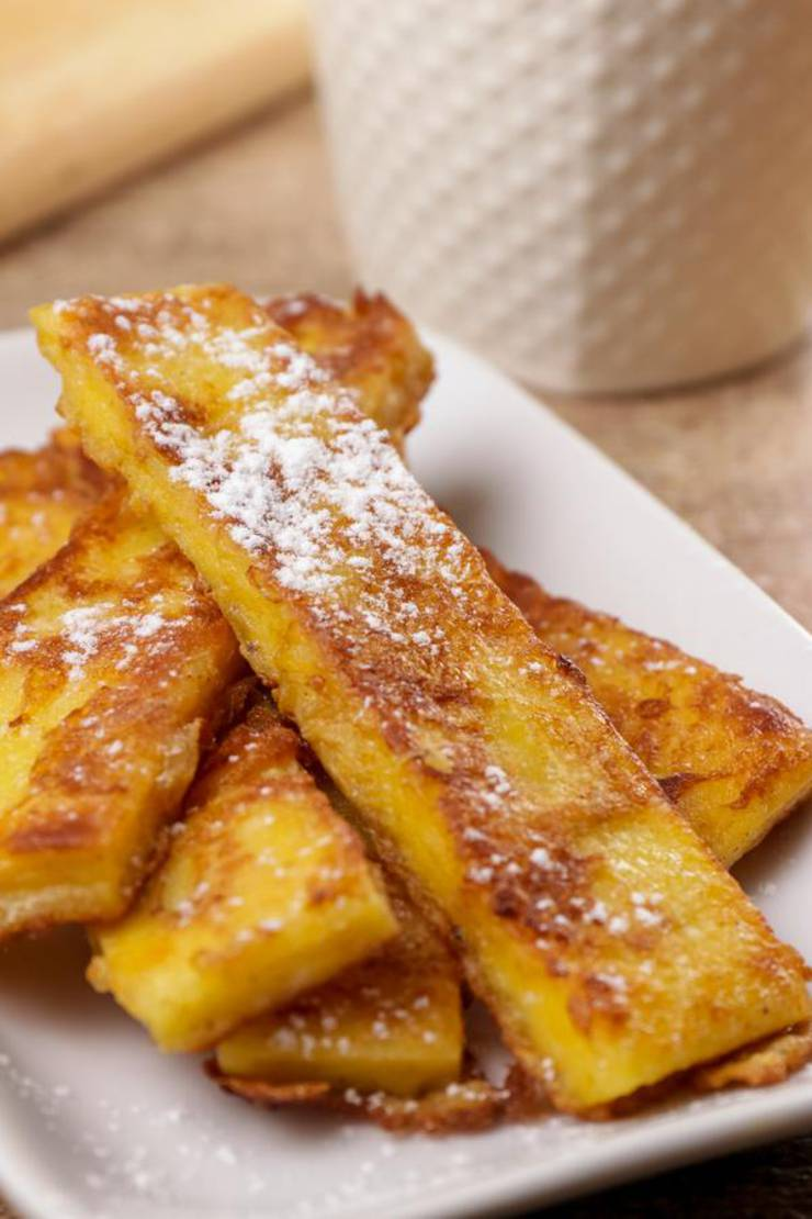 Keto French Toast Sticks