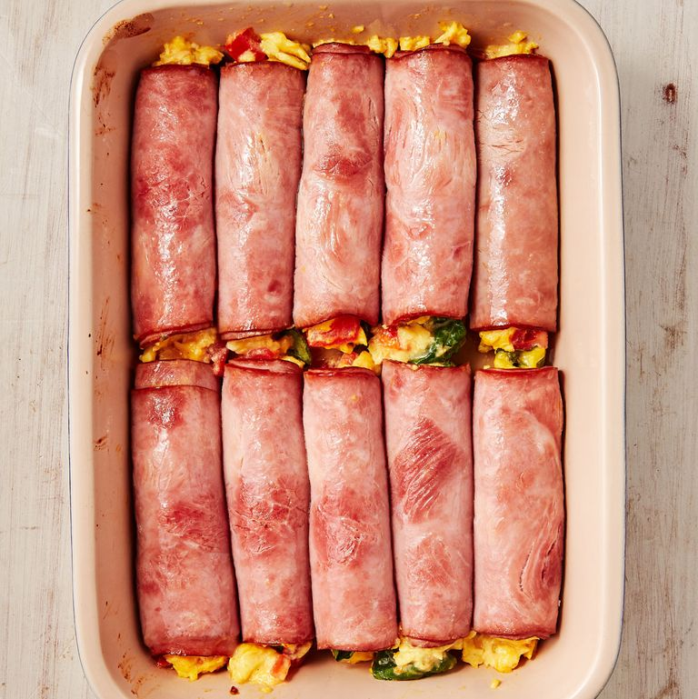 Ham, Egg and Cheese Roll-Ups