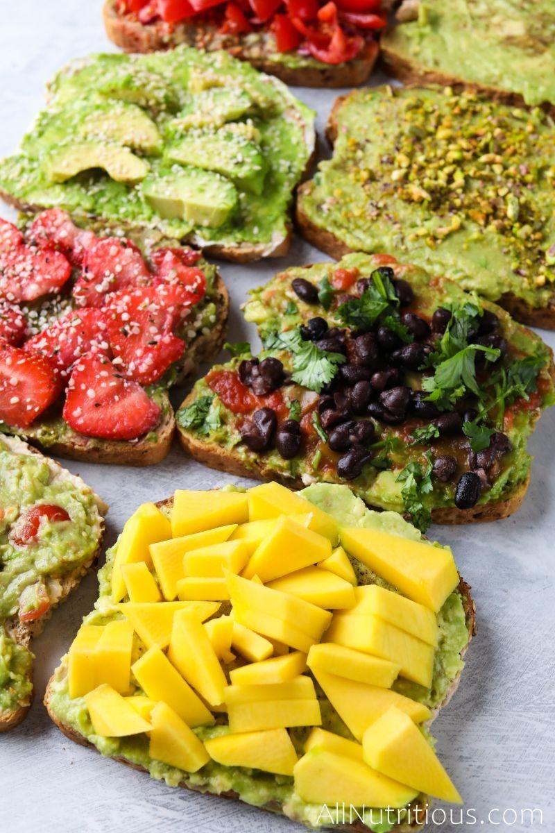 avocado toasts all of them