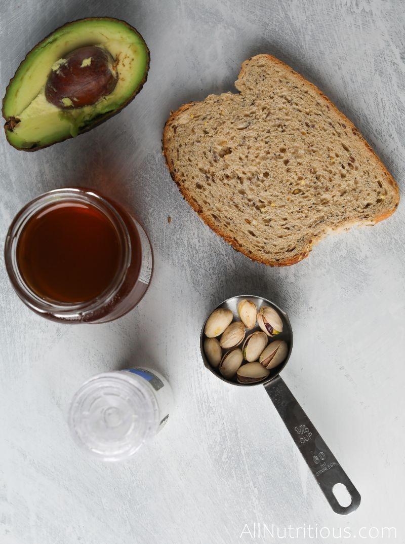 pistachio ingredients