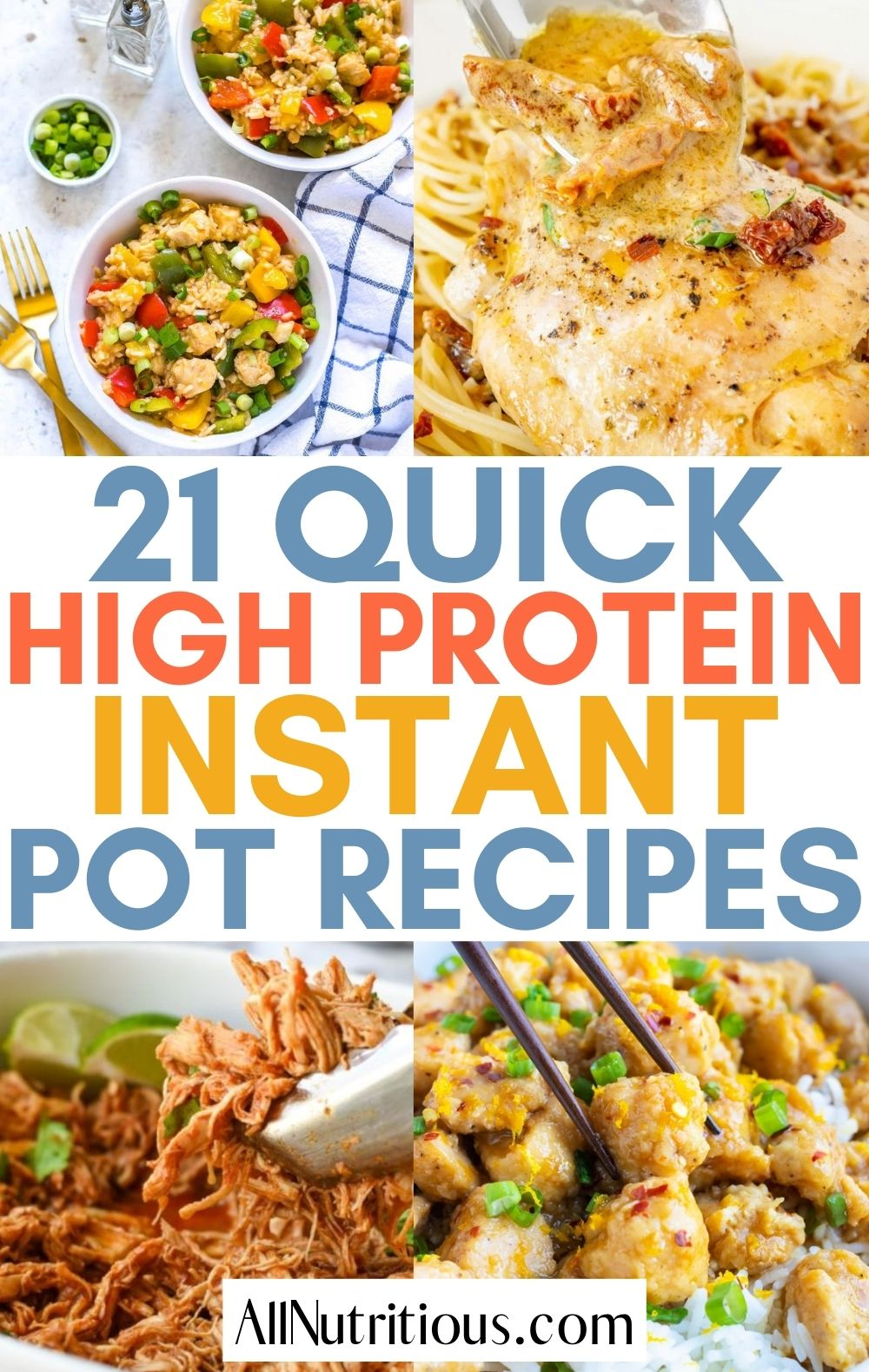 high protein instant pot meals